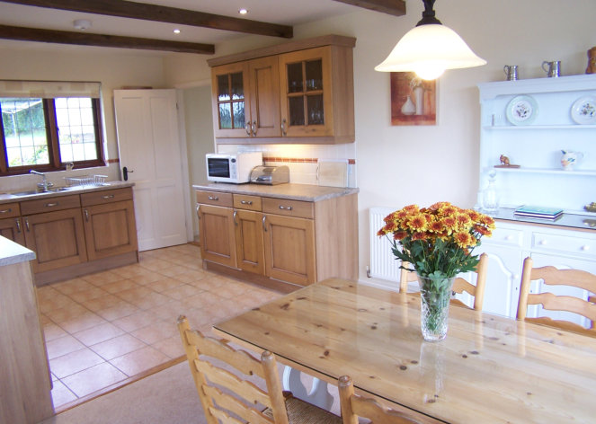 North Cornwall self catering Kitchen and Dining